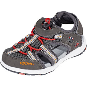 Viking Footwear Thrill Sandals Kids charcoal/red